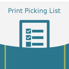 Magento print picking list icon